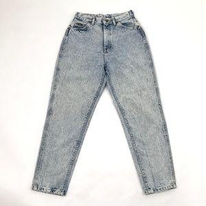 Vintage 70s LEE Jeans Women Acid Wash High Waist M